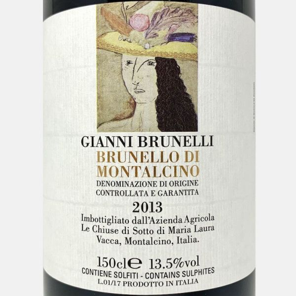 Amor Costante Rosso Toscana IGT 2013 - Gianni Brunelli-Vinigrandi
