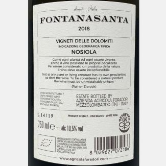 Black Label Nero d'Avola Sicilia DOC 2017 – Tola